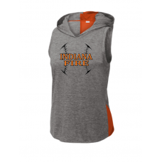 Sport-Tek ® Ladies PosiCharge ® Tri-Blend Wicking Draft Hoodie Tank