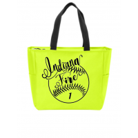 NEON YELLOW TOTE